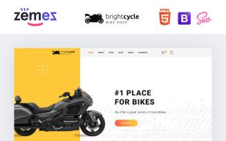 Brightcycle - Motorcycle Store Website Template
