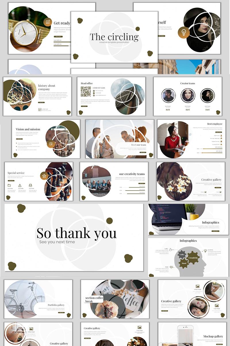 Ð¡ircling PowerPoint Template - screenshot