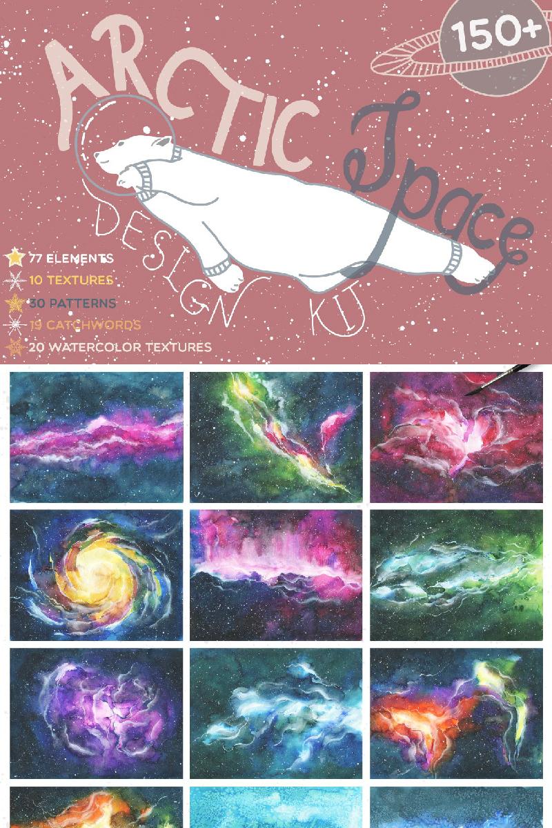 """Tema Illustrazione #90237 """"Arctic Space Collection"""""""