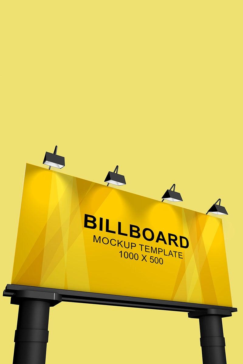 """Billboard"" maquette de produit  #90392"