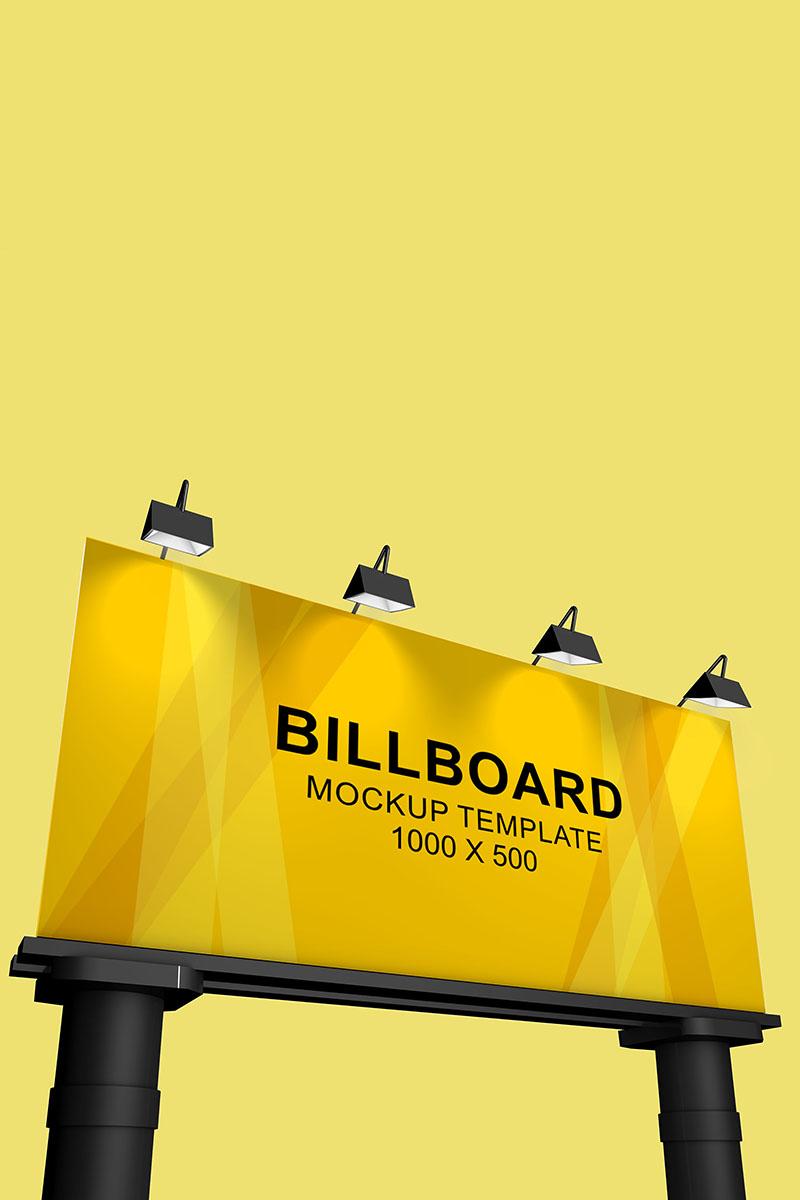 """""""Billboard"""" Product Mockup №90392"""