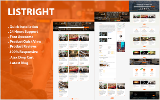 Listright- Directory Listing HTML5 Website Template