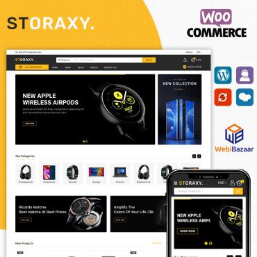 Купить  пофессиональные WooCommerce шаблоны. Купить шаблон #90438 и создать сайт.