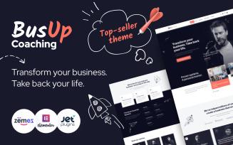 BusUp - Engaging And Inspiring Public Speaker Website WordPress Theme
