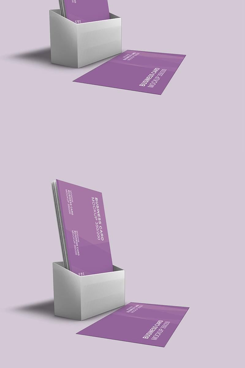 """Holder full of Business Cards"" maquette de produit  #90442"