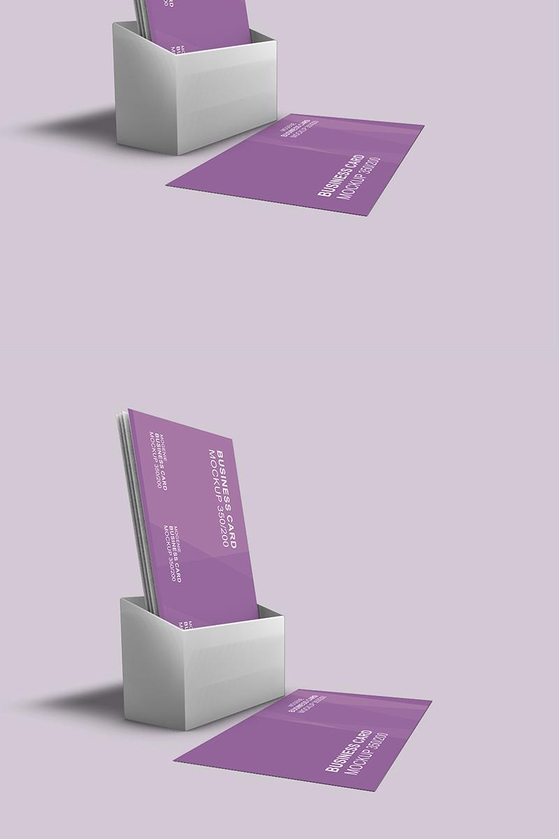 """Maketa produktu """"Holder full of Business Cards"""" #90442"""