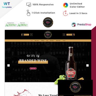 Купить  пофессиональные PrestaShop шаблоны. Купить шаблон #90571 и создать сайт.