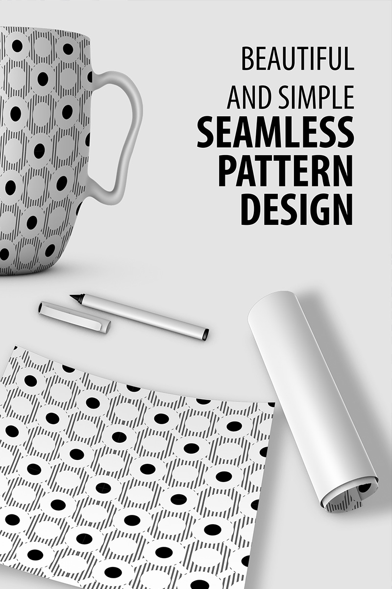Abstract Repeat Pattern Design #90523