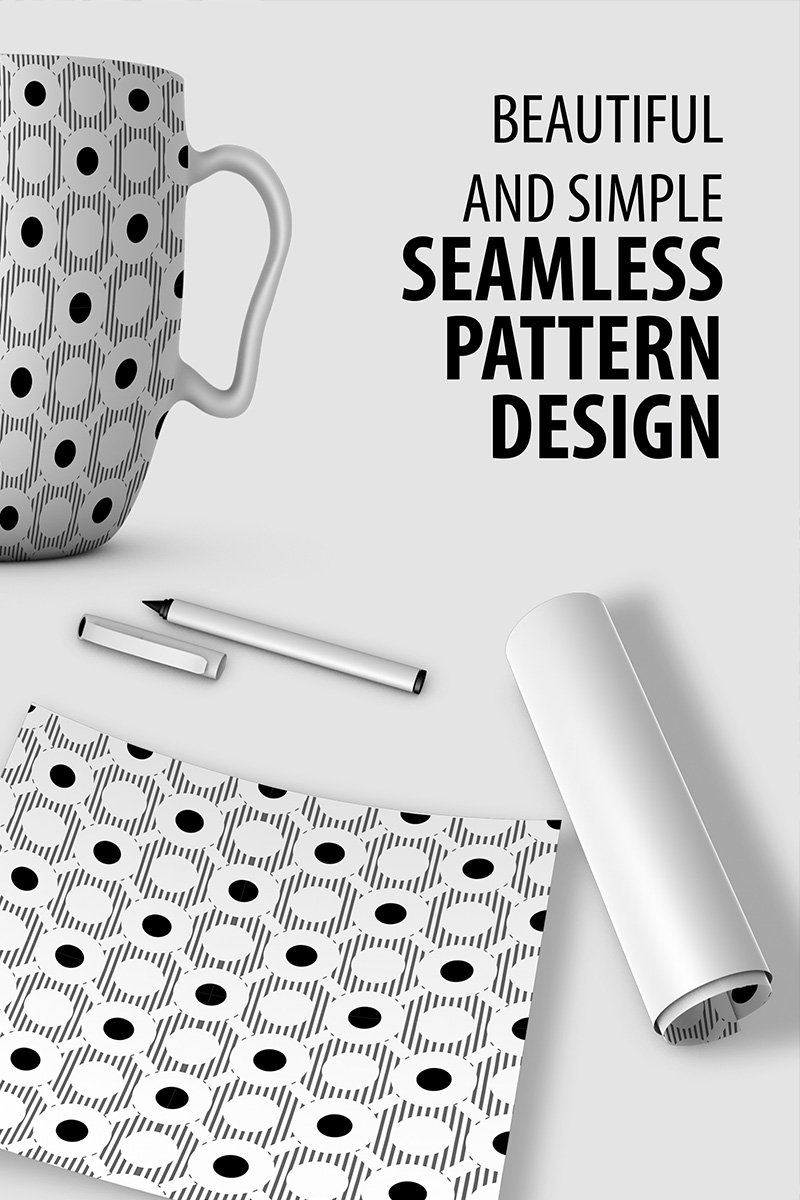 """Abstract Repeat Pattern Design"" Pattern №90523"