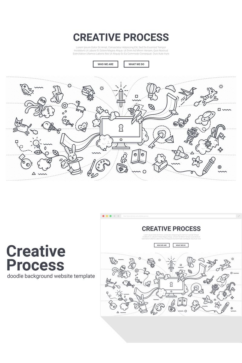 Doodle - Creative Process Background 90579