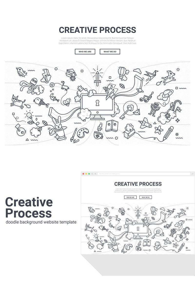 Doodle - Creative Process Background - screenshot