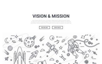 Doodle - Vision Mission Background