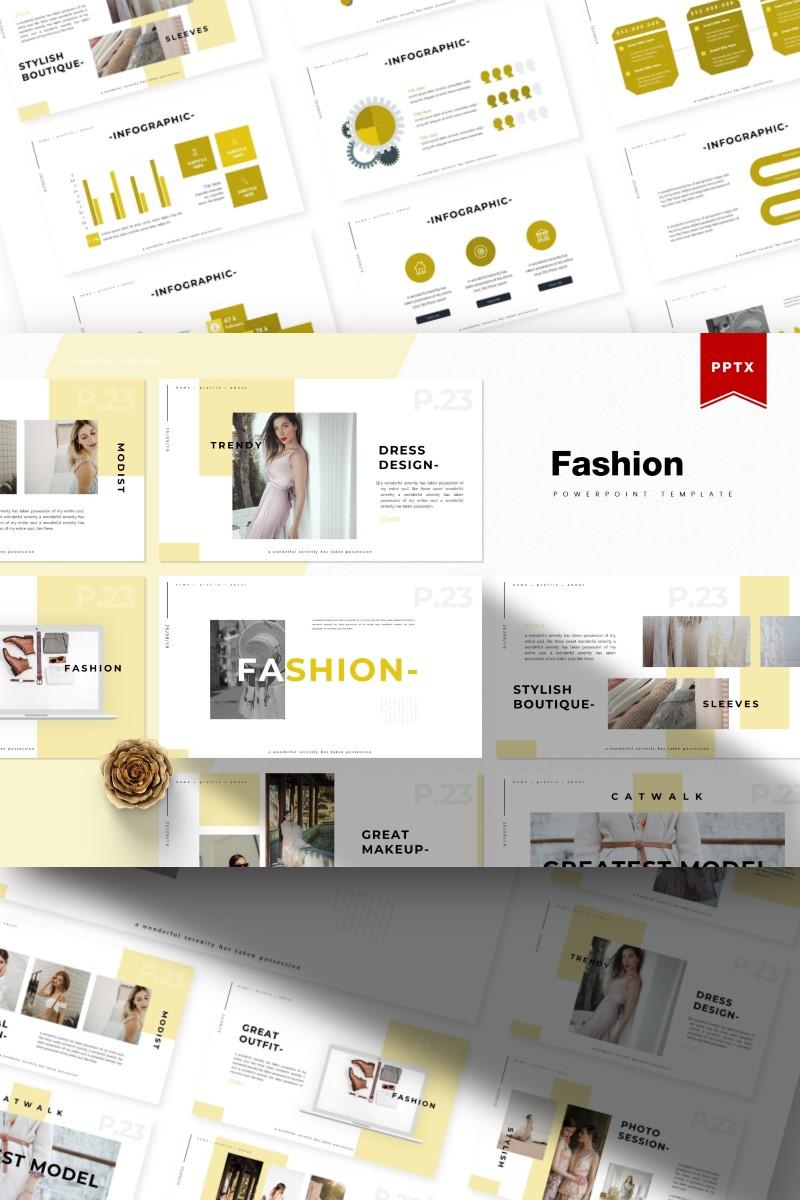 Fashion   PowerPoint Template - screenshot