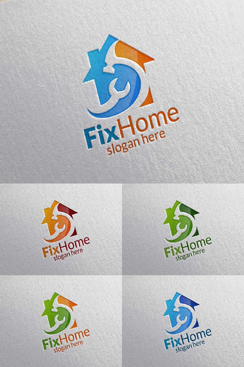 Fix Home 2 Logo Template - screenshot