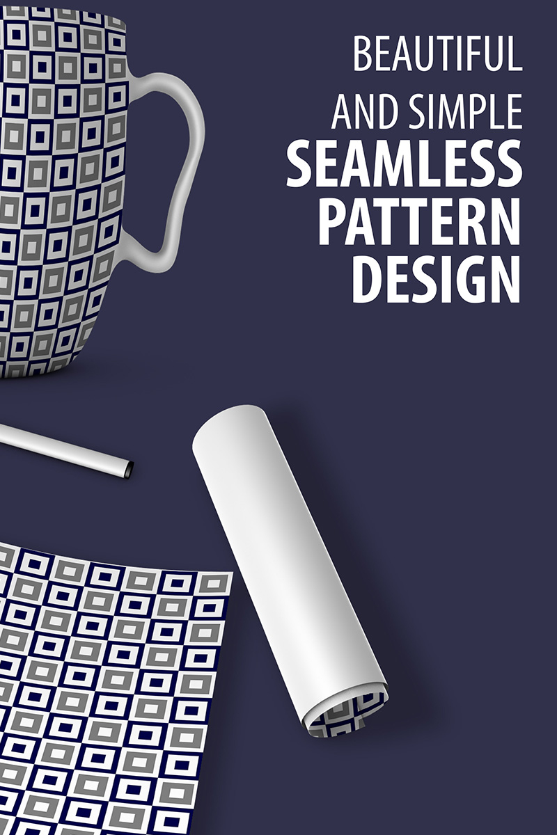 "Modello Pattern #90524 ""Abstract Seamless Design"""