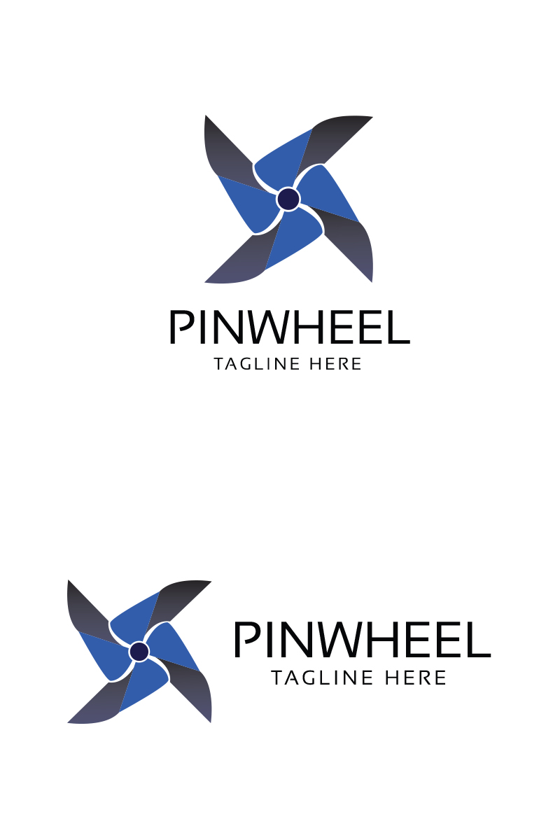 Pinwheel Logo Template - screenshot