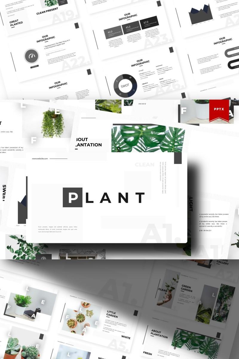 Plant   PowerPoint Template - screenshot