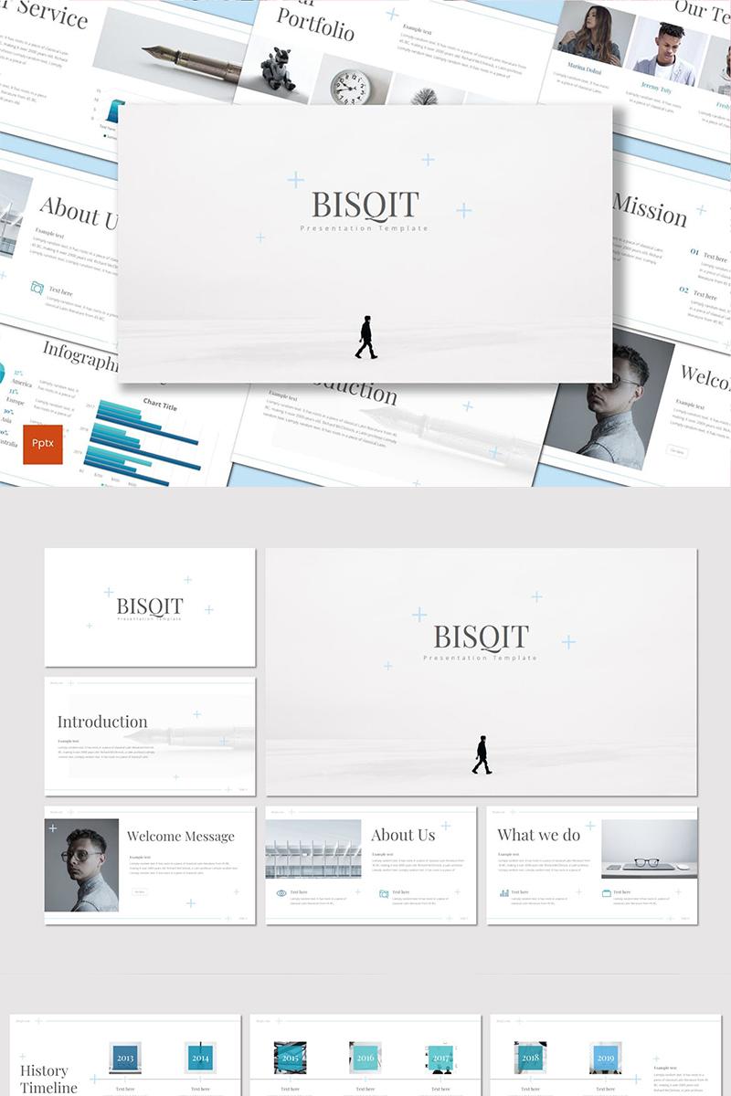 """PowerPoint Vorlage namens """"Bisqit"""" #90536"""