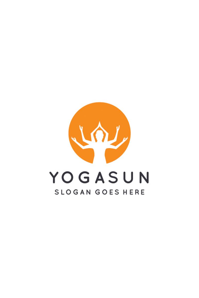 Yoga Sun Logo Template - screenshot
