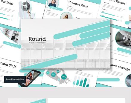 Round PowerPoint Template