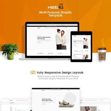 Купить  пофессиональные Shopify шаблоны. Купить шаблон #90627 и создать сайт.