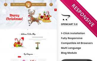 Festivve - OpenCart Template