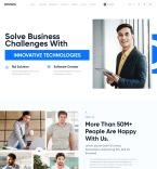 Шаблоны бизнес сайтов. Шаблон сайта 90647