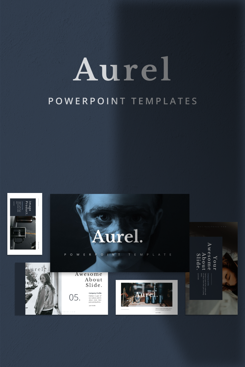 AUREL - PowerPoint sablon 90672