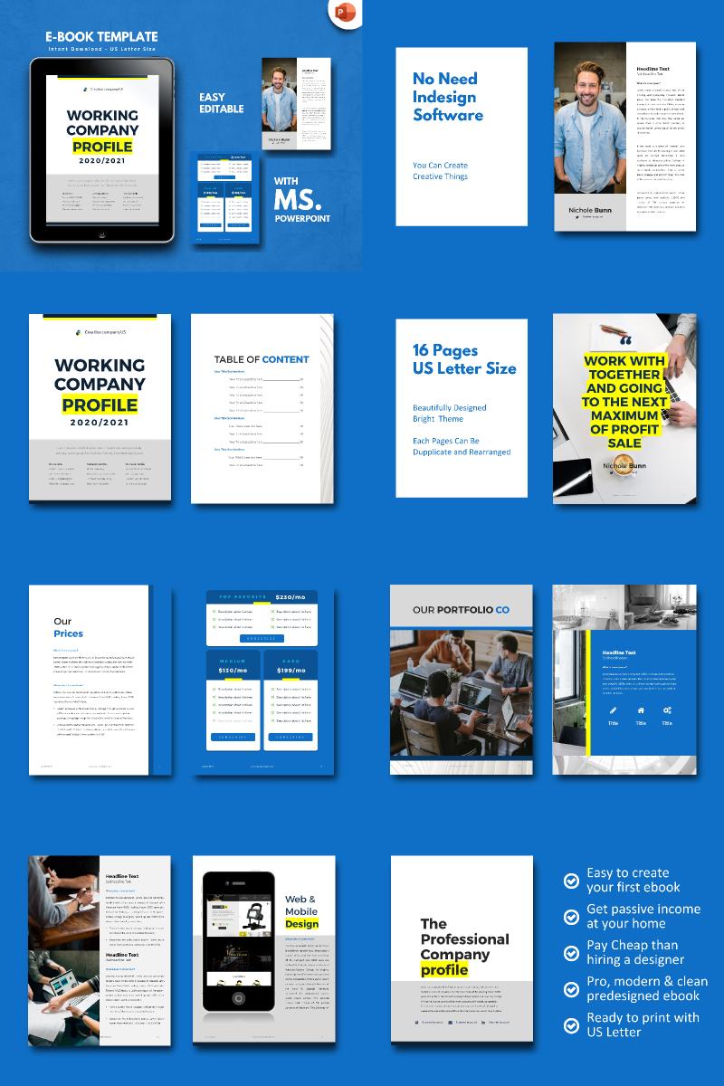 """Company Profile 2020 -"" modèle PowerPoint  #90680"