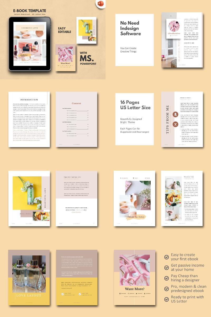 Cosmetic Makeup Tips - PowerPoint Template - screenshot