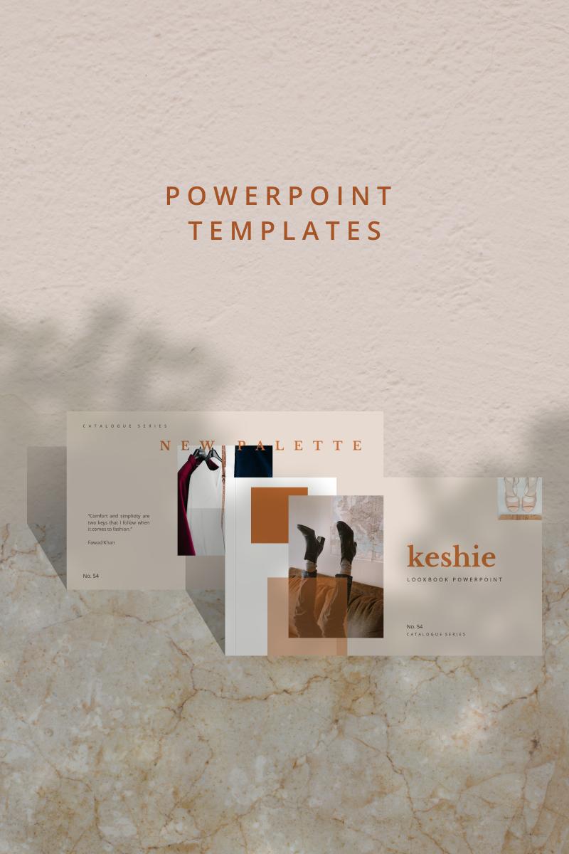 """KESHIE -"" modèle PowerPoint  #90673"