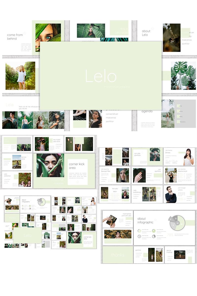 """Lelo"" Responsive PowerPoint Template №90689"