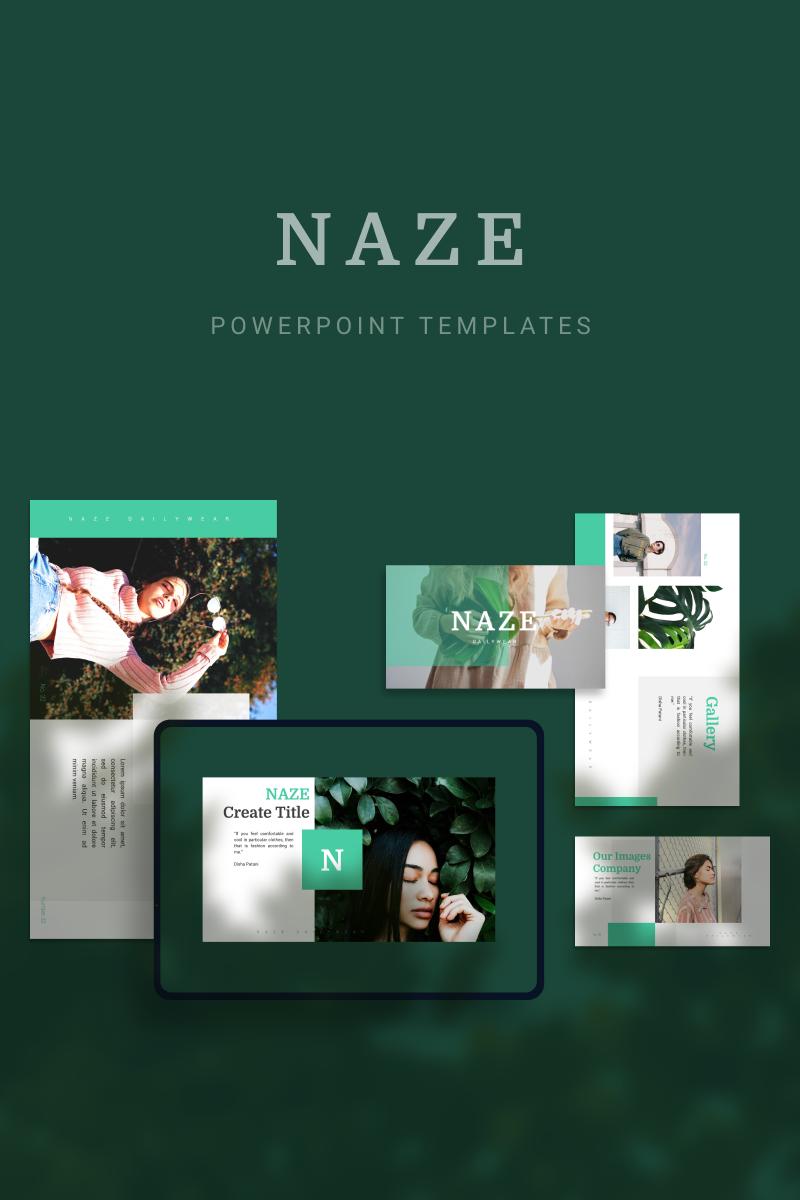 "PowerPoint šablona ""NAZE"" #90691"