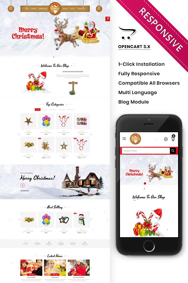 Responsive Festivve - Opencart #90628 - Ekran resmi