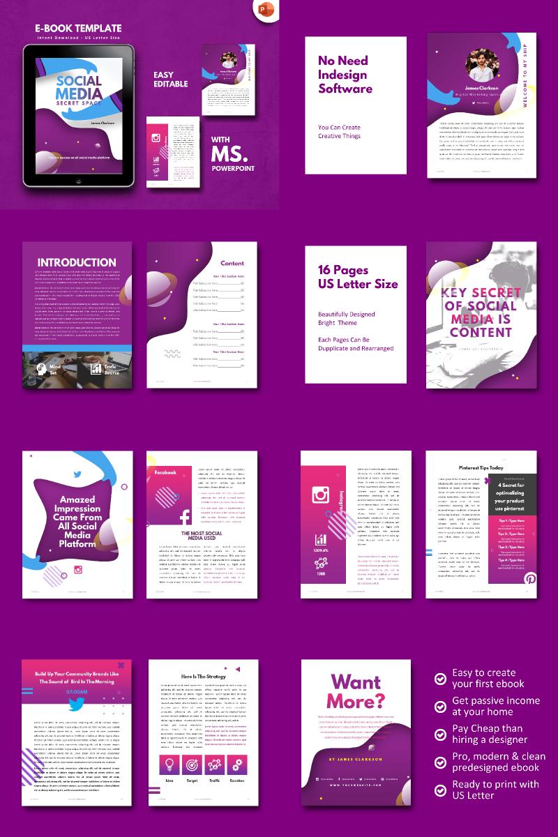 Social Media Secret  - PowerPoint Template