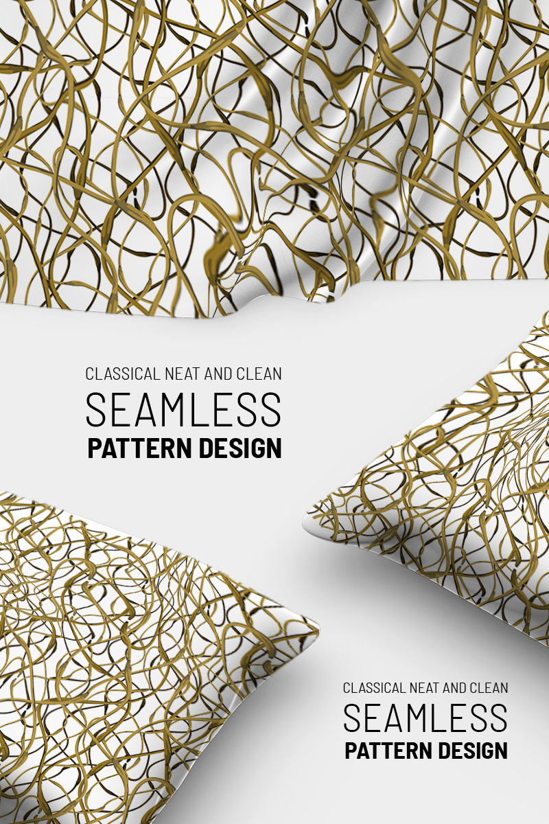 Abstract beautiful braches seamless Pattern №90791