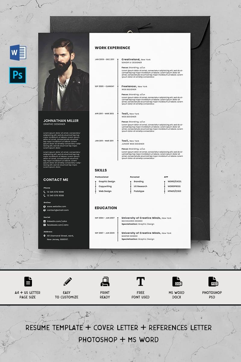 """Alex"" Premium CV Template №90721"