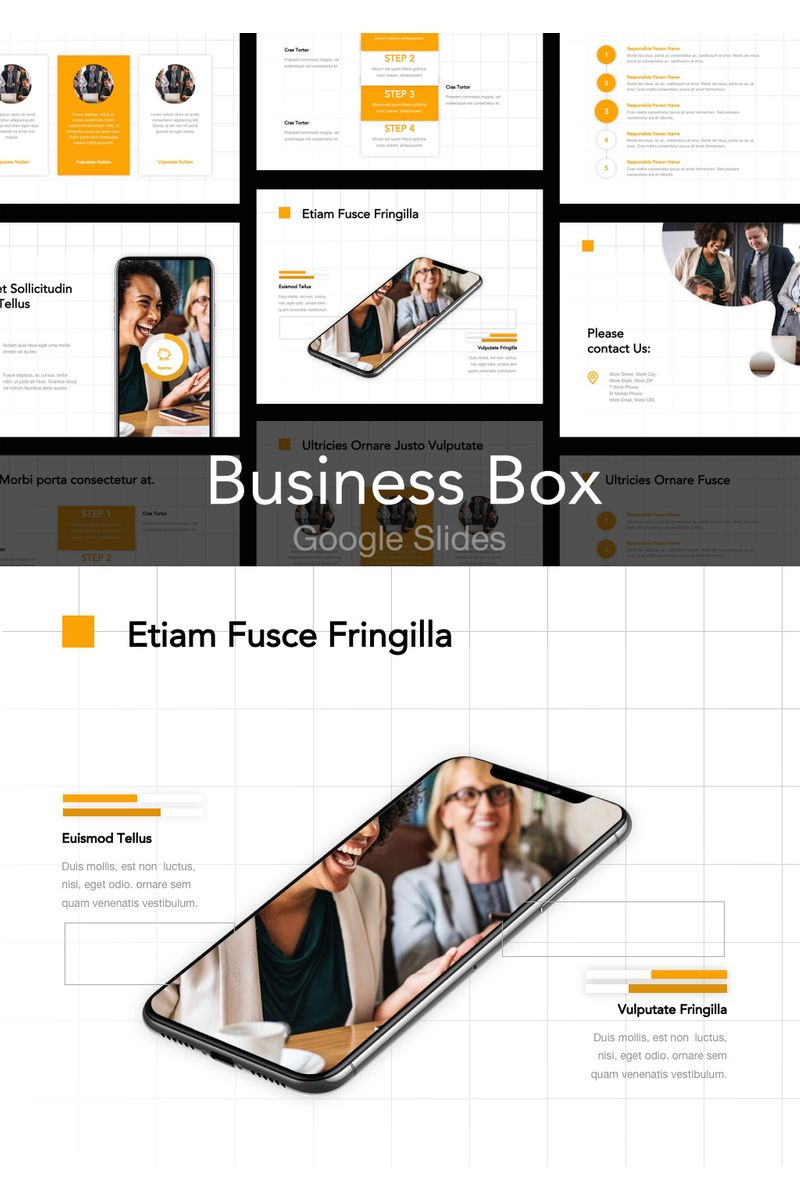 Business Box Google Slides 90738