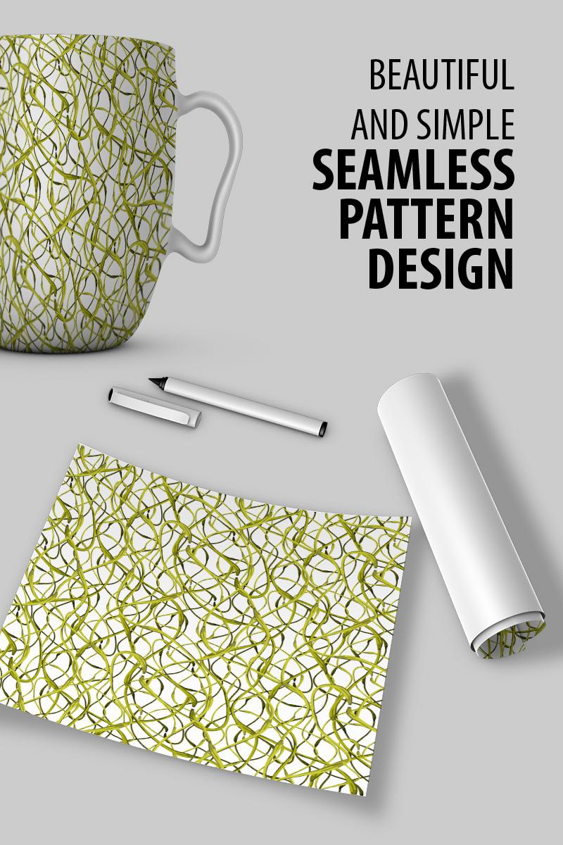 Elegantly design illustration of flora repeat design Pattern #90792