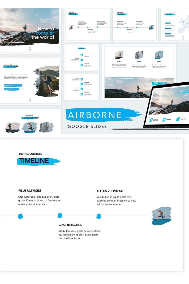 Google Slides Airborne #90745