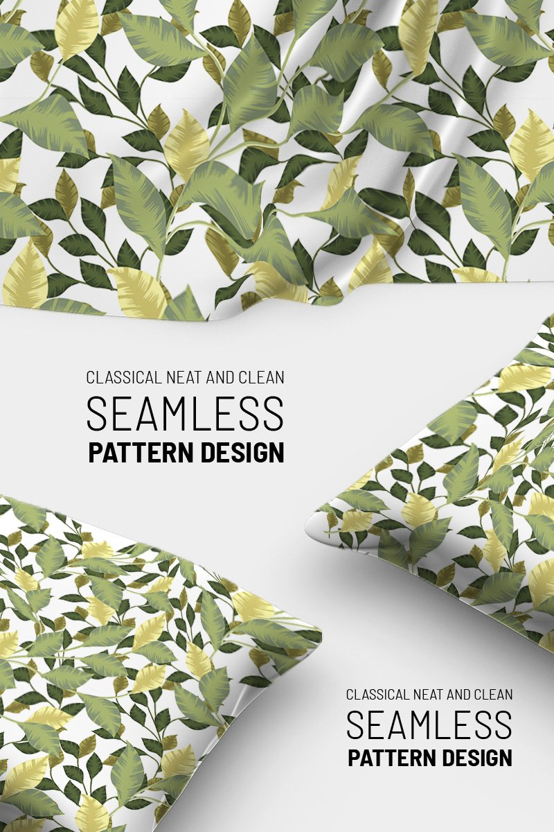 "Pattern namens ""Botanical seamless elegant design"" #90797"