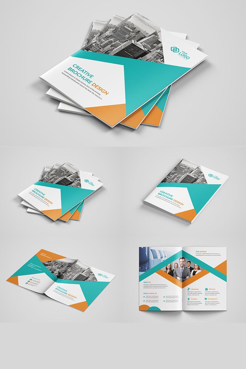 """Šablona firemního stylu """"Business Bi-fold Brochure Design"""" #90768"""