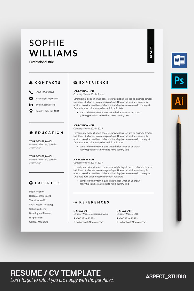 Sophie  Williams Resume #90716