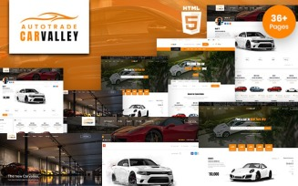 Carvalley | Auto Market and Automobile HTML5 Template Website Template