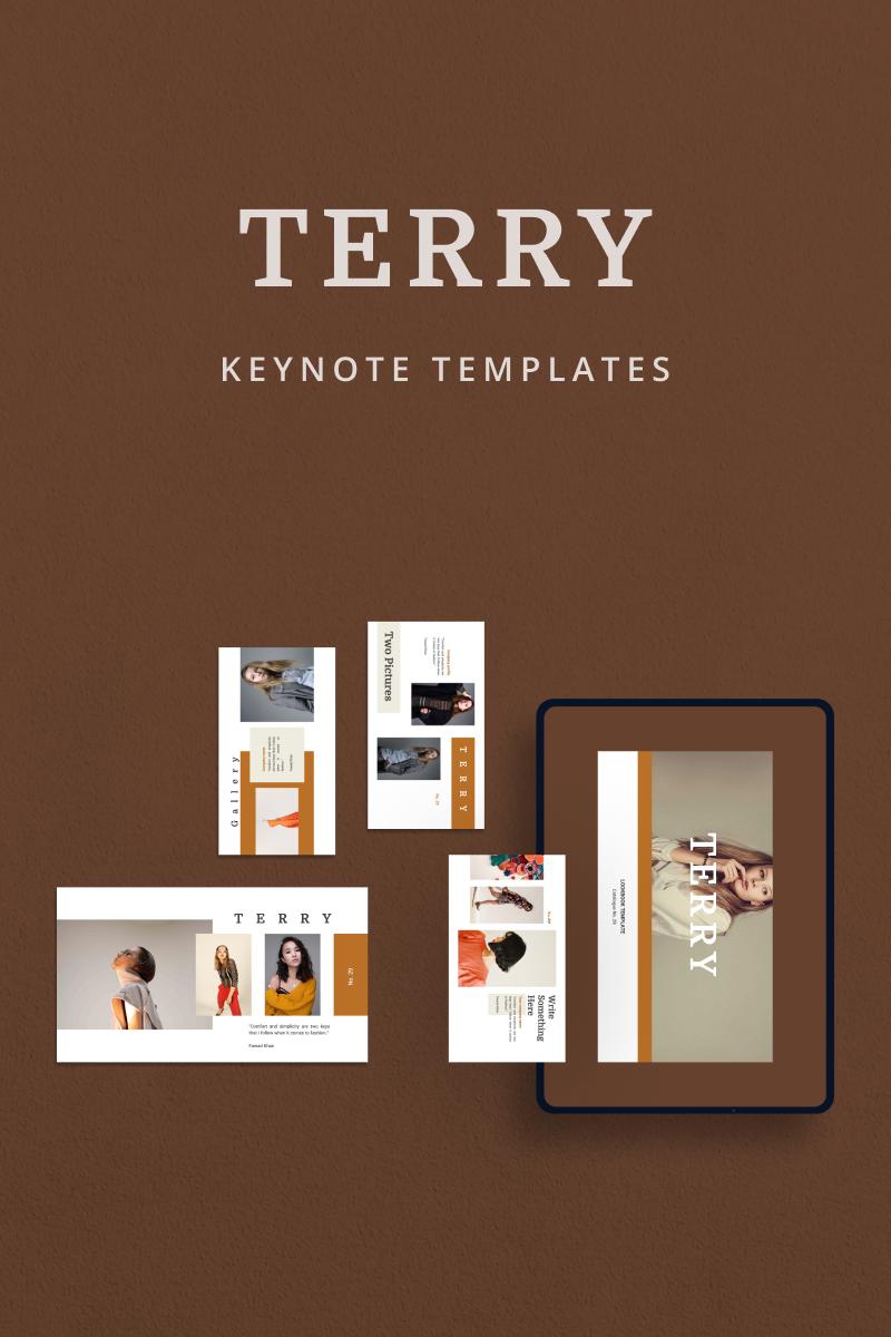 "Šablona pro Keynote ""TERRY"" #90841"