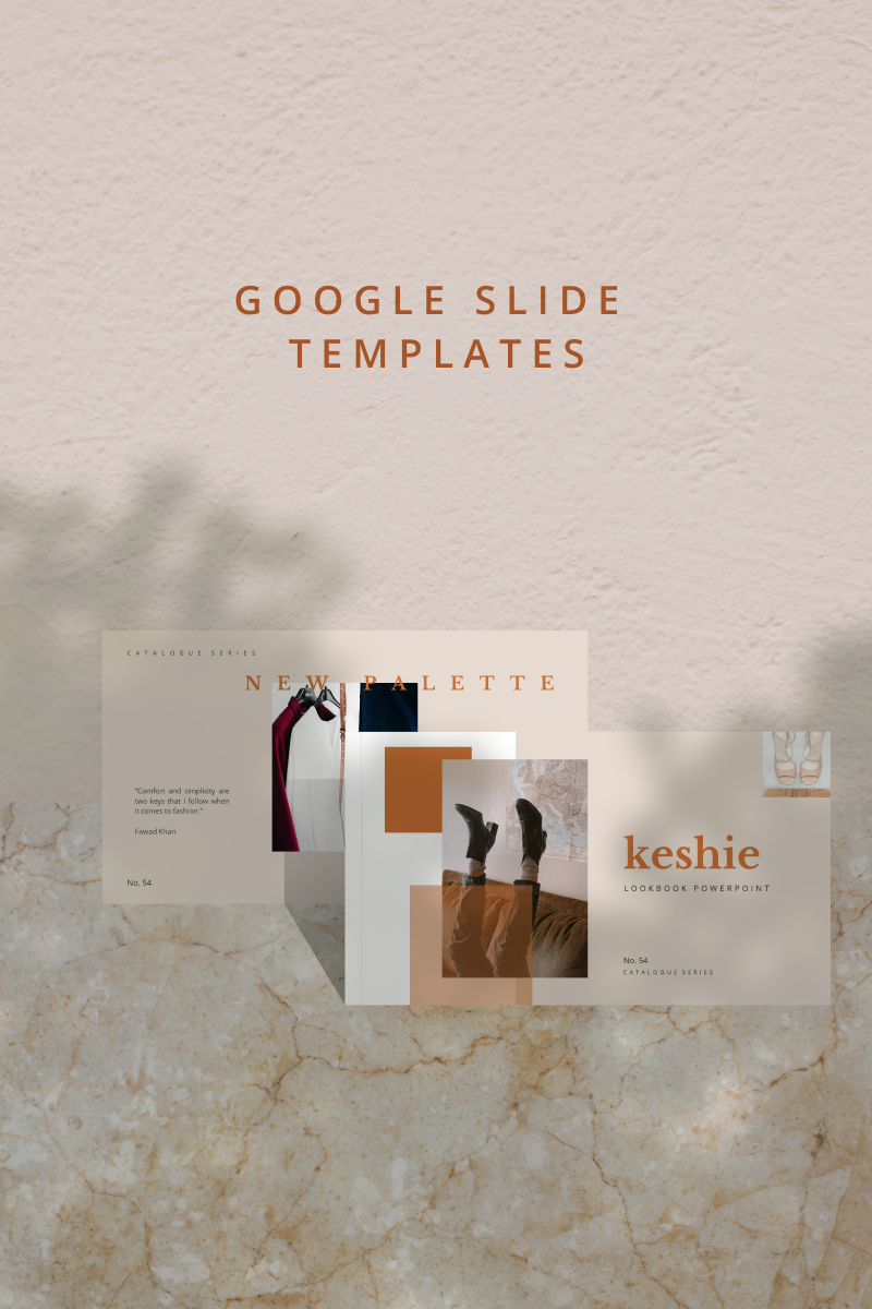 "Template Google Slides #90859 ""KESHIE"""