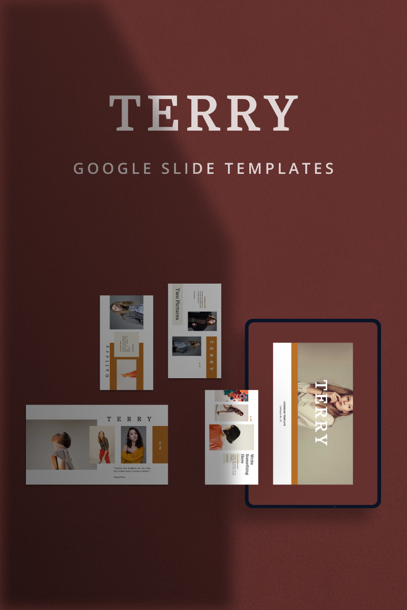 "Template Google Slides #90862 ""TERRY"""