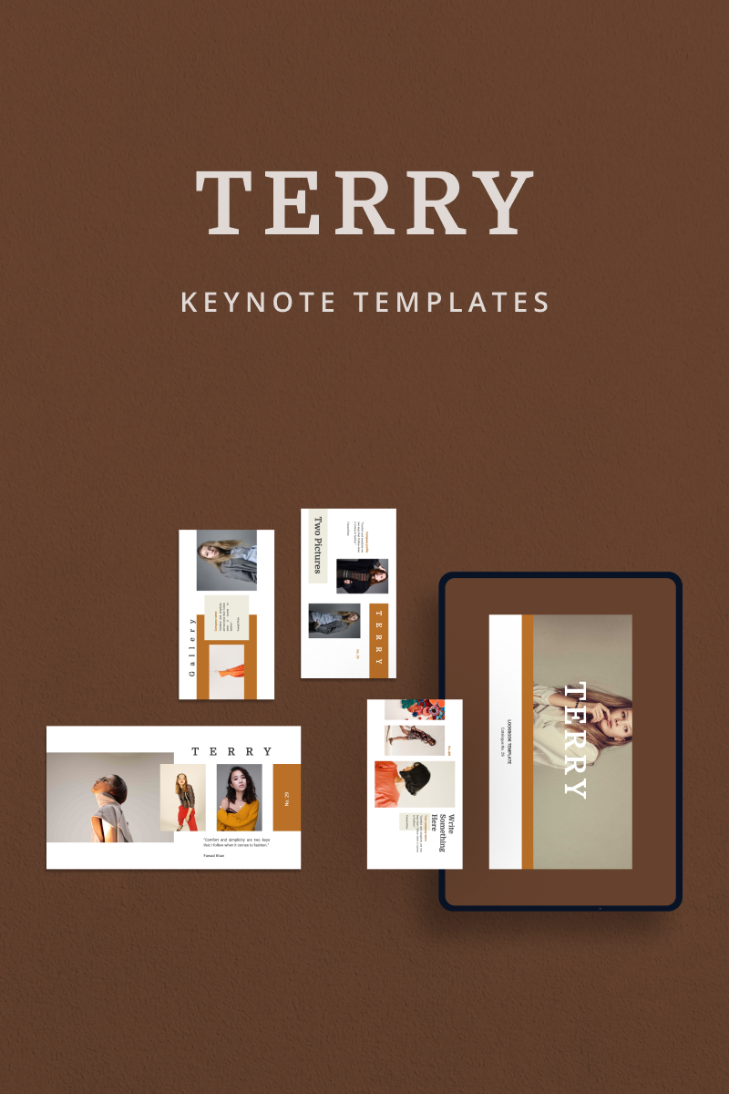 """TERRY"" Keynote Template №90841"