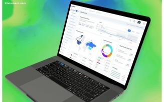 Web Analytics Admin Dashboard UI
