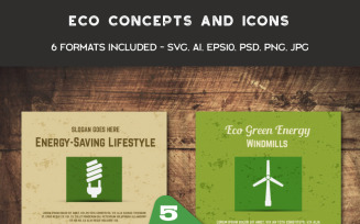 Eco Cards and Icons
